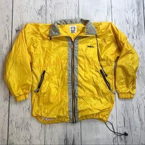 Vintage Wilson Windbreaker Jacket Medium